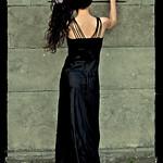 Dark Mystery Graveyard Girl