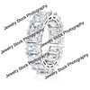 Radiant Diamond Eternity Ring Standing