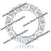 Round Diamond Eternity Ring Side
