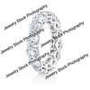 Round Diamond Eternity Ring Standing2