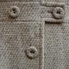 Tightly woven Vintage Italian beige coat
