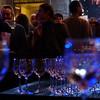 Outside celebration wine glasses