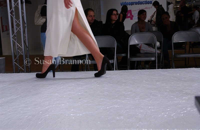 From the sidelines on the runway