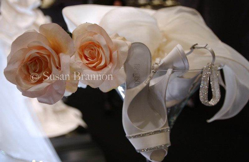 Wedding Shoes and Flower