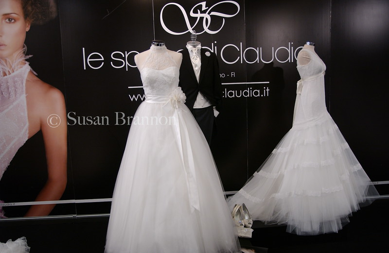 Designer wedding dresses Florence, Italy