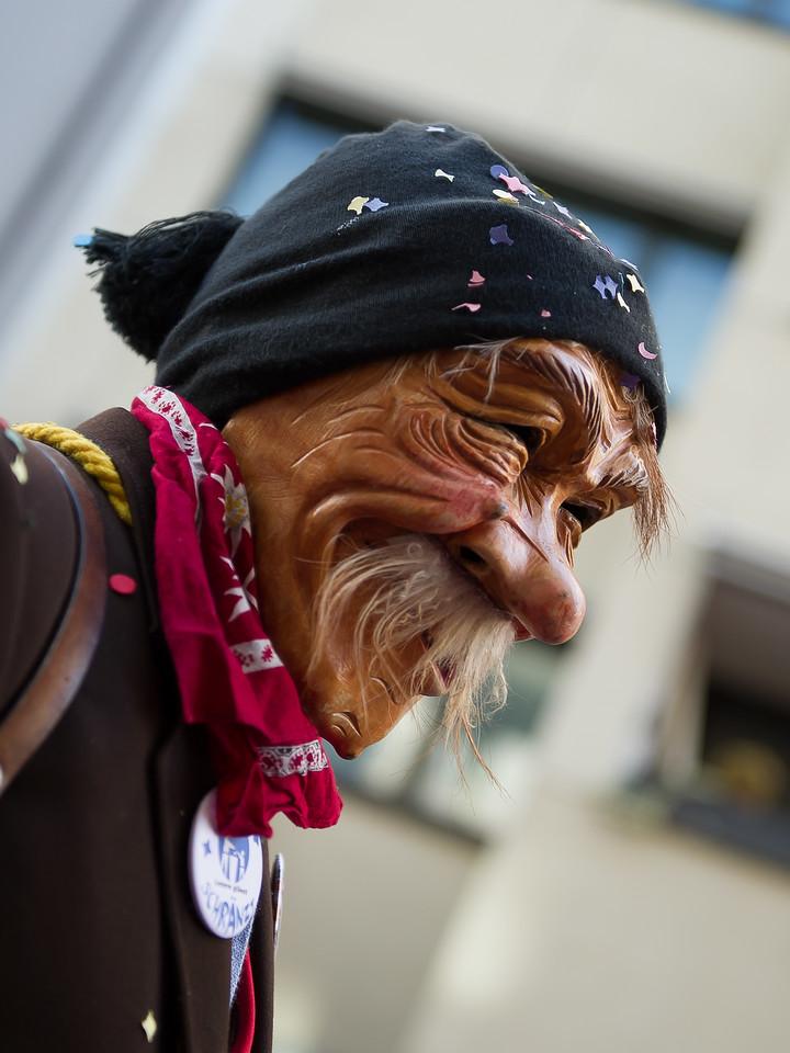 Krienser Holzmaske; Fasnacht; Luzern; Switzerland