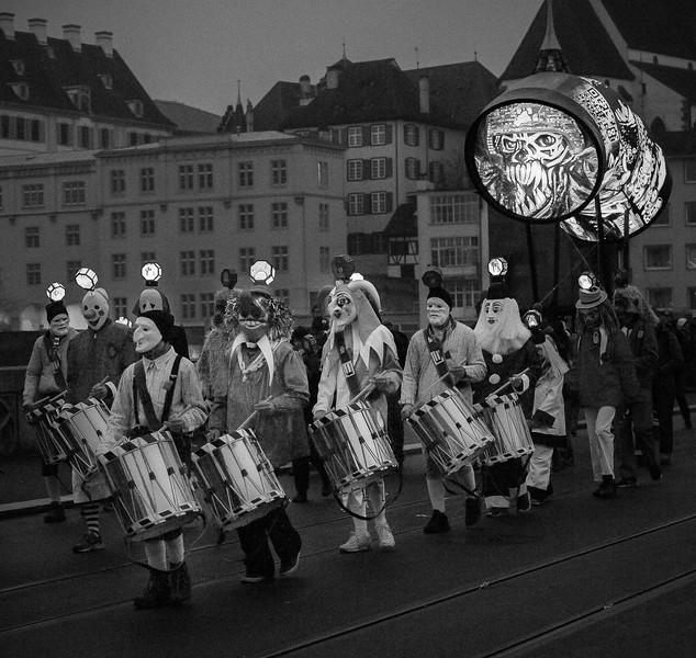 Trommler; Basler Morgestraich; Basel; Switzerland