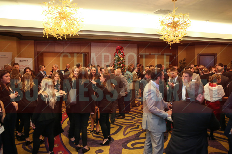 Hundreds gathered for the Fast 50 awards at the Hilton Charlotte Center City on Thursday.