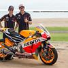 Dani Pedrosa and Marc Marquez 2015 Honda MotoGP Team