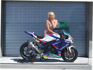 Eugene Laverne / 2014 Voltcom Crescent Suzuki  GSXR1000 SBK World Superbike