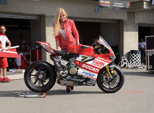 Chaz Davis / Team Ducati Corse 1199RS SBK World Superbike 2014