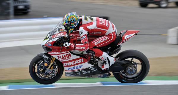Chaz Davis / Team Ducati Corse 1199RS SBK World Superbike 2014