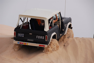Don's Bronco eats up the Dunes.