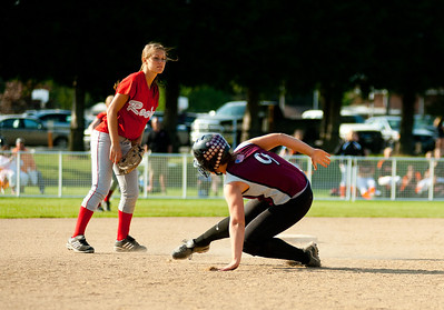 Montesano HS vs. Castle Rock HS, district playoff, May 16, 2012
