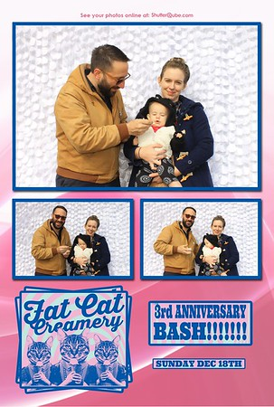 Fat Cat Creamery 3rd Year Anniversary Bash