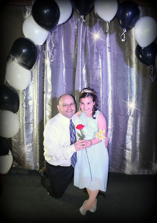 CCA- Cheer / Father Daughter Dance 2016 - By April Styles