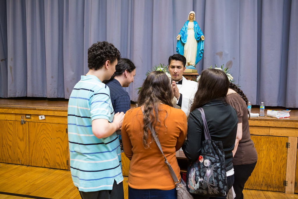 Father Gabriel 1st Mass