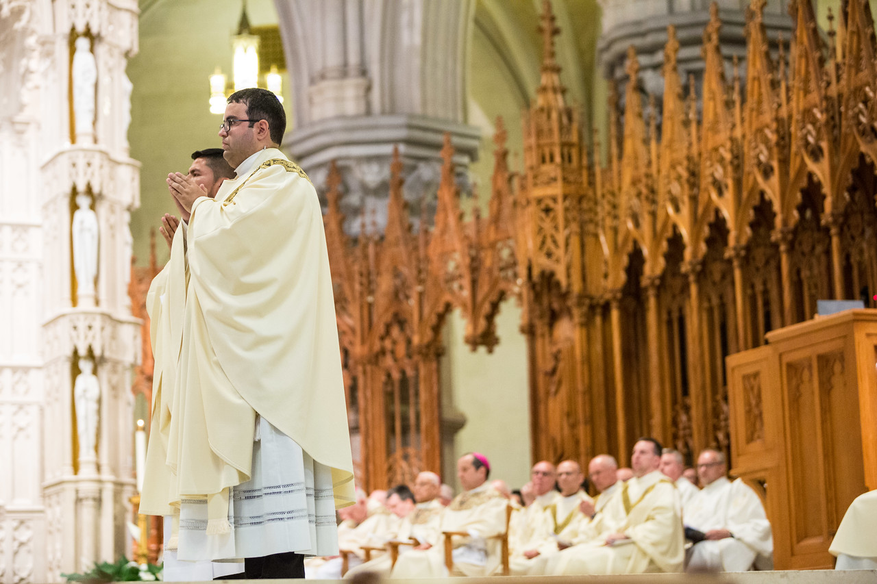 Father Gabriel Ordination - Ceremony at Cathedral Basilica