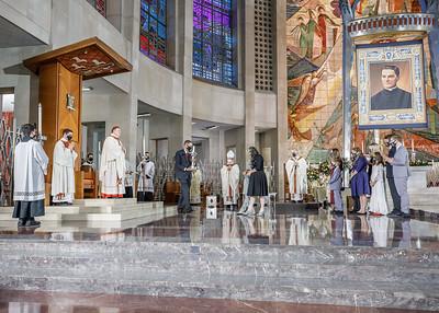 AJ AOH Beatification Mass 1028