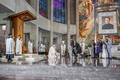 AJ AOH Beatification Mass 1023