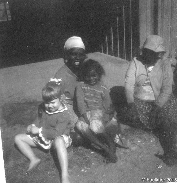 Kathleen Brooking with Karen and Naomi Taylor