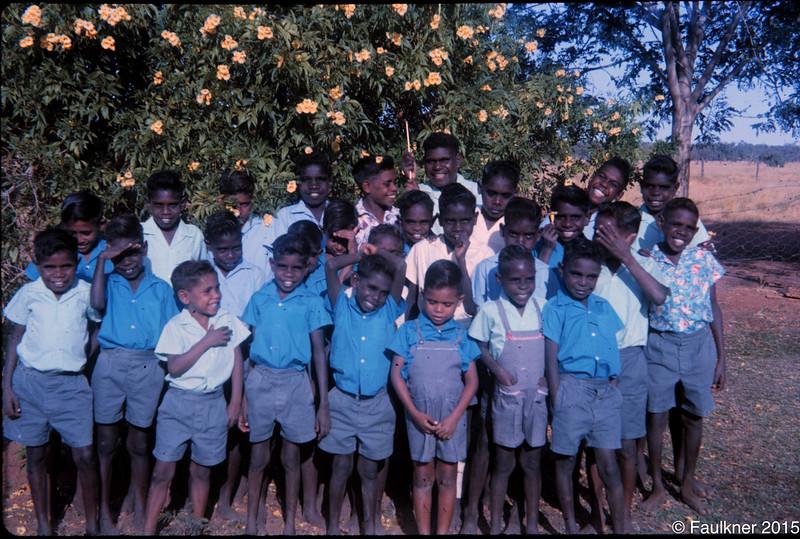 Boys hostel boys Fitzroy Crossing 1964