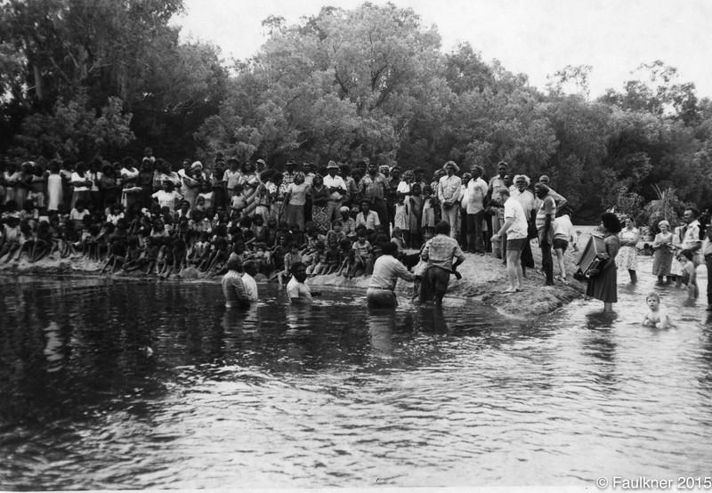 Baptism fitzroy river.