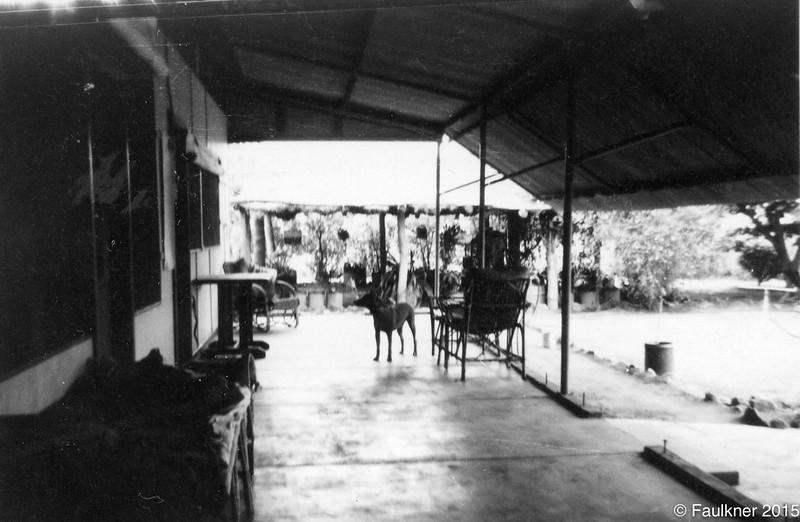 Mission Top house verandah