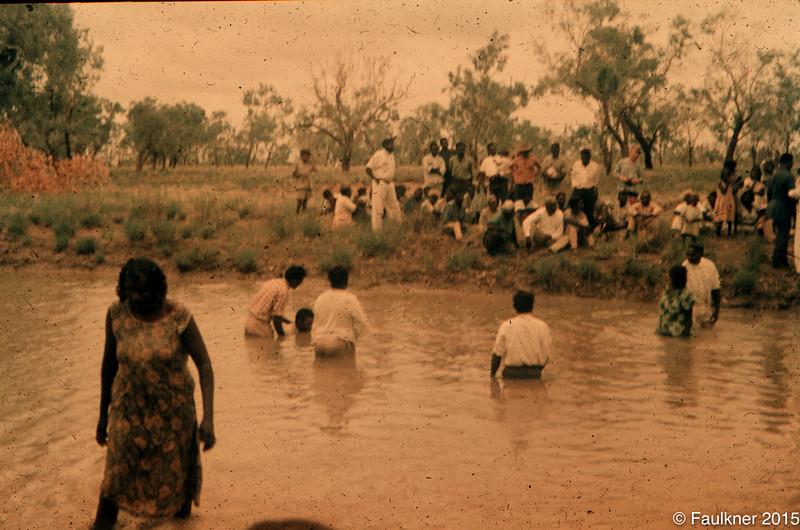 Baptism Brooking Creek