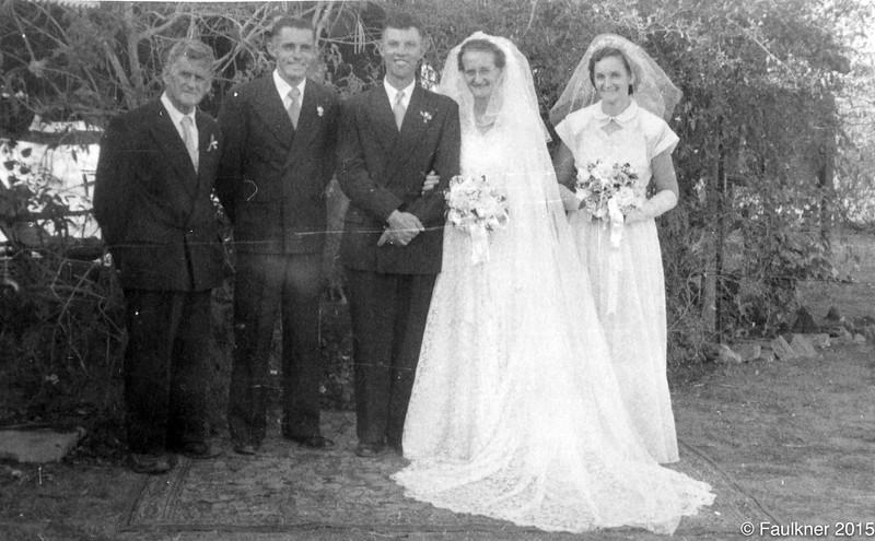 Nelson and Melvina Rowley wedding