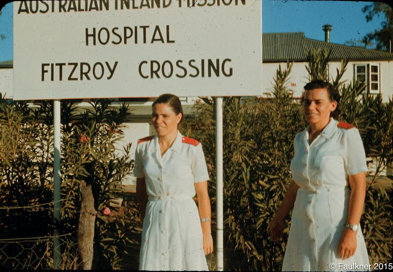 AIM nurses at hospital