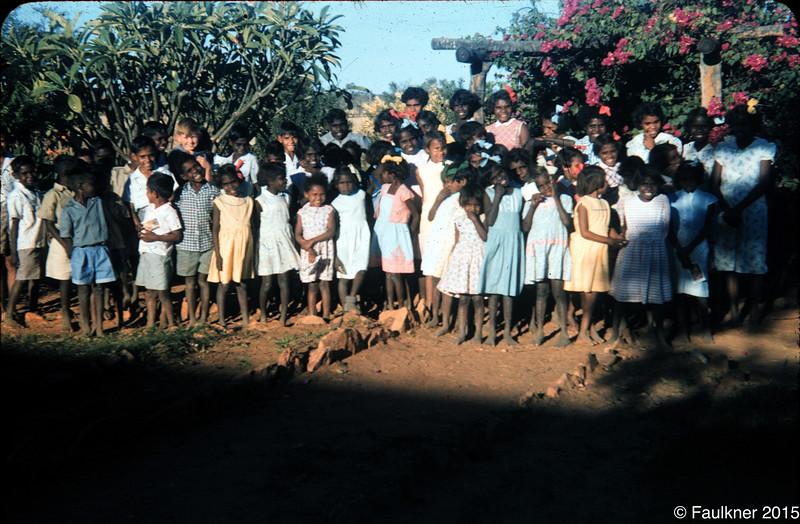 Hostel children 1956