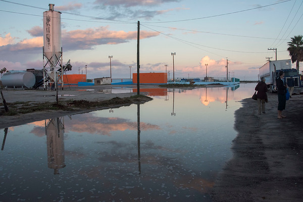 Puerto San Carlos - Street After Night Rain