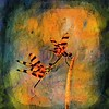 Description - Halloween Pennant Dragonflies <b>Title - Courting Dragonflies</b> 1st Place <i>- Meg Puente</i>