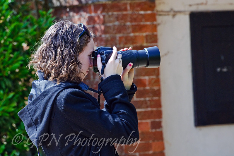 A budding Photographer in action!