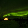 Arctic camping.
