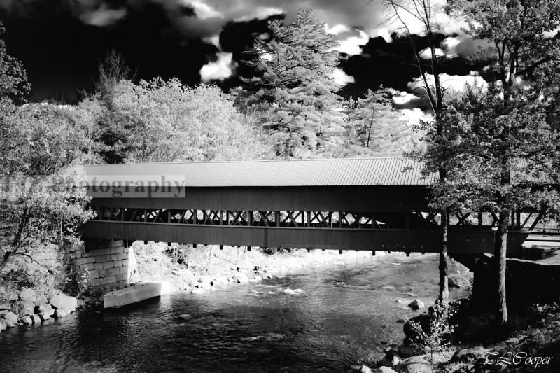 Swift River Covered Bridge in Conway, NH