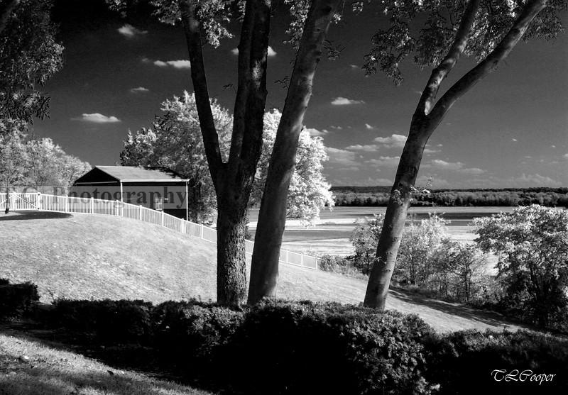 Missouri Farm in B&W