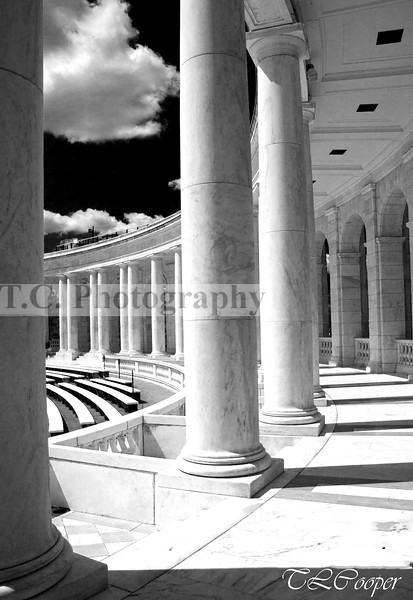 Tomb of the Unknown Soldier in B&W