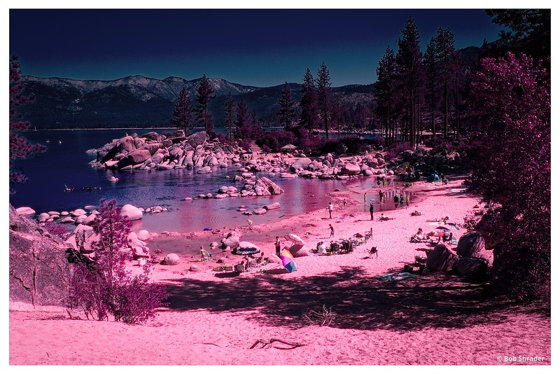 Beach in Infrared