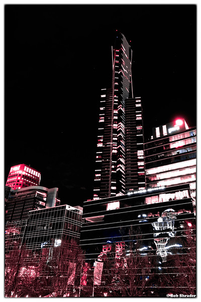 Eureka Tower at Night