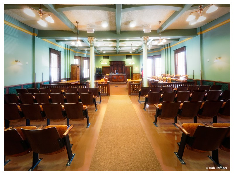 Ellis County Courtroom