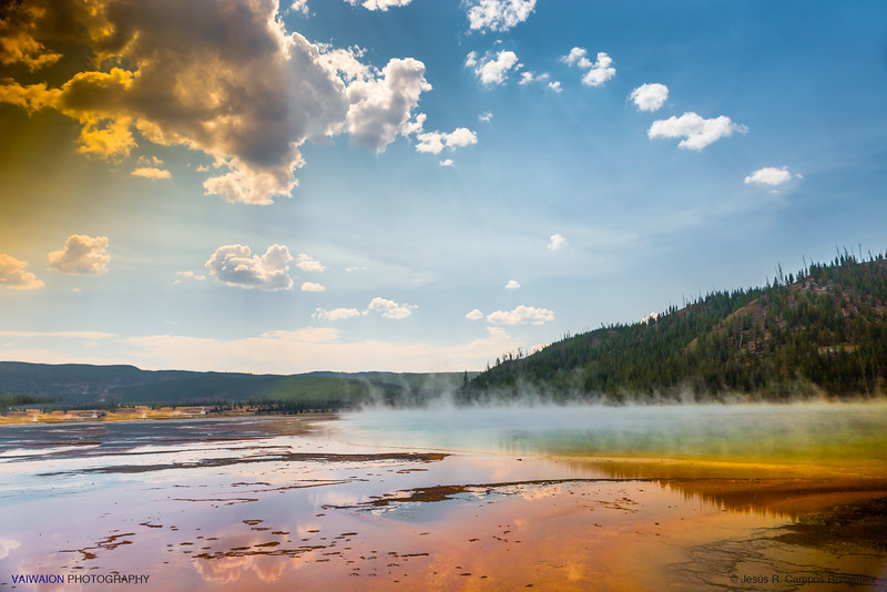 Grand Prismatic Spring - Midway Geyser Basin
