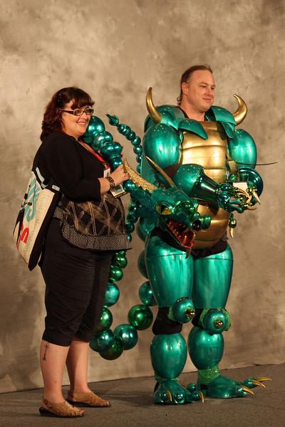 Puff the Magic Dragon  Century Guild and The Costume Designers Guild Local #892 Company Award:  Worn By: Blair Heald Designed and Made By: Blair Heald and Teresa Gesiakowski