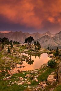 Luces de Tormenta en el Pirineo