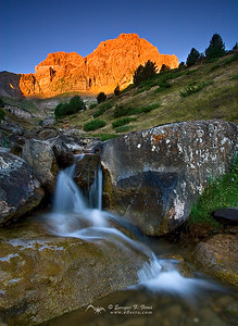 Sunrire over Telera Peak