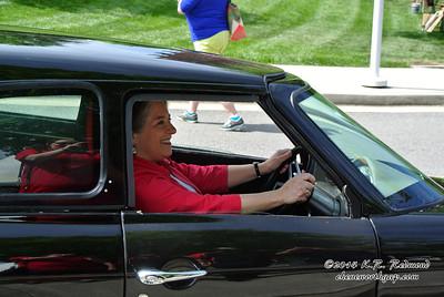 Mayor Rogero at the Wheel