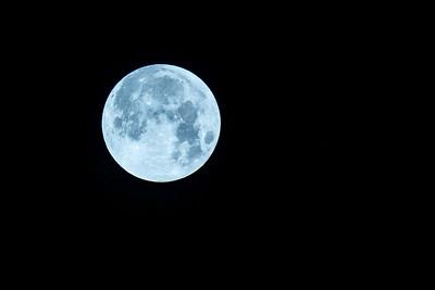 Super Blue Moon ~ January 31, 2018
