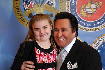 Lauren Newton and her dad