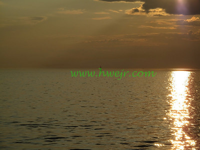"""Some relatives had suggested a round trip ferry ride across Long Island Sound and this sailboat at sunset was sighted. This foto can be found in its original category  """" Boating """"  in gallery  """" NY-CT  Sept, 2009 """" as  image #1684"""